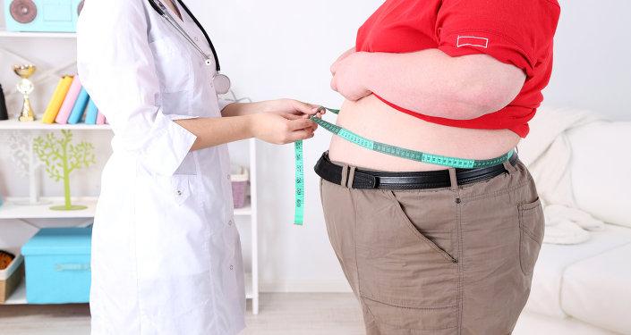 Pacjent z otyłością