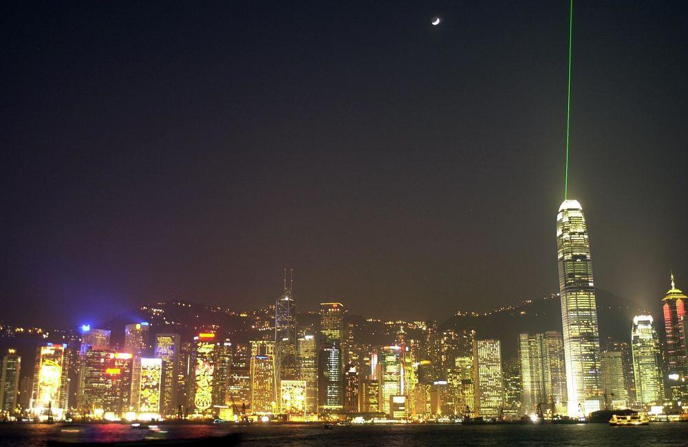 Drapacze chmur w Hongkongu