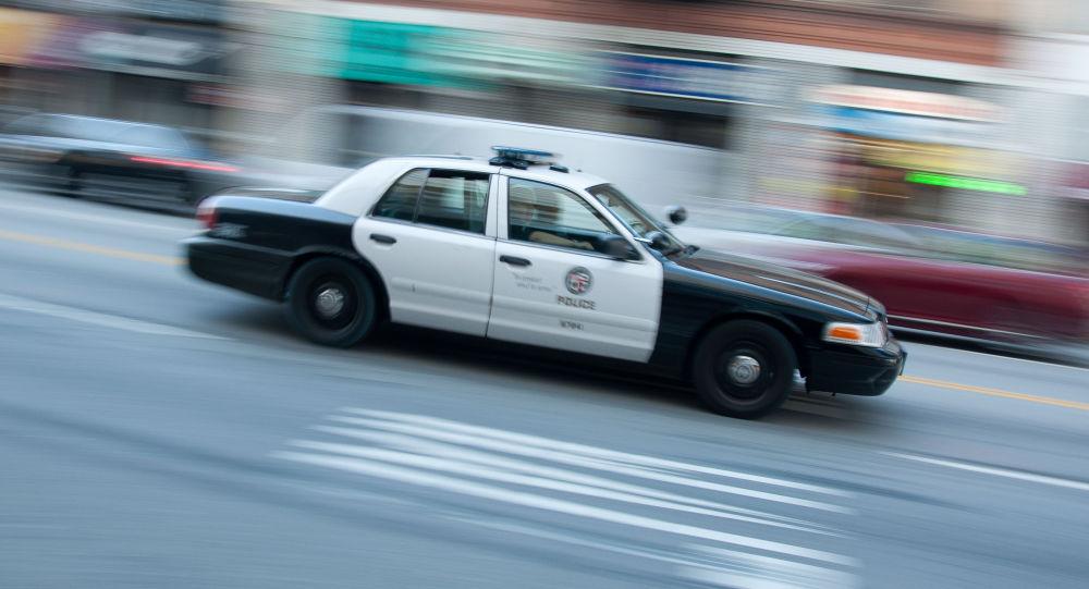 Samochód policji w USA