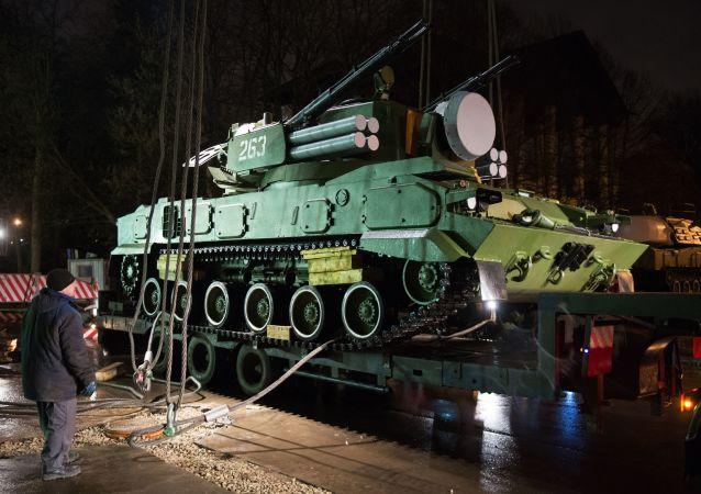 Transport rosyjskiej broni