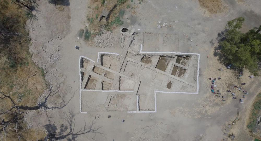 Wykopaliska starożytnego kościoła w Izraelu