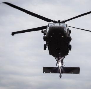 Amerykański śmigłowiec UH-60M Black Hawk