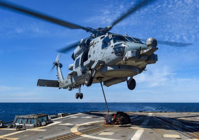 Amerykański helikopter MH-60R Seahawk