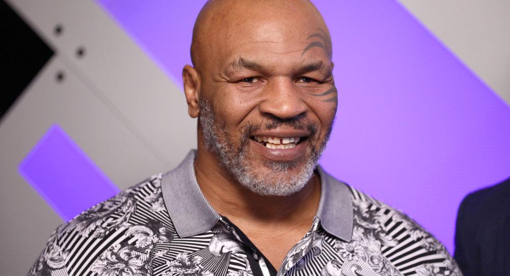 Amerykański bokser Mike Tyson
