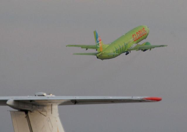 """Samolot linii lotniczej """"Globus"""""""