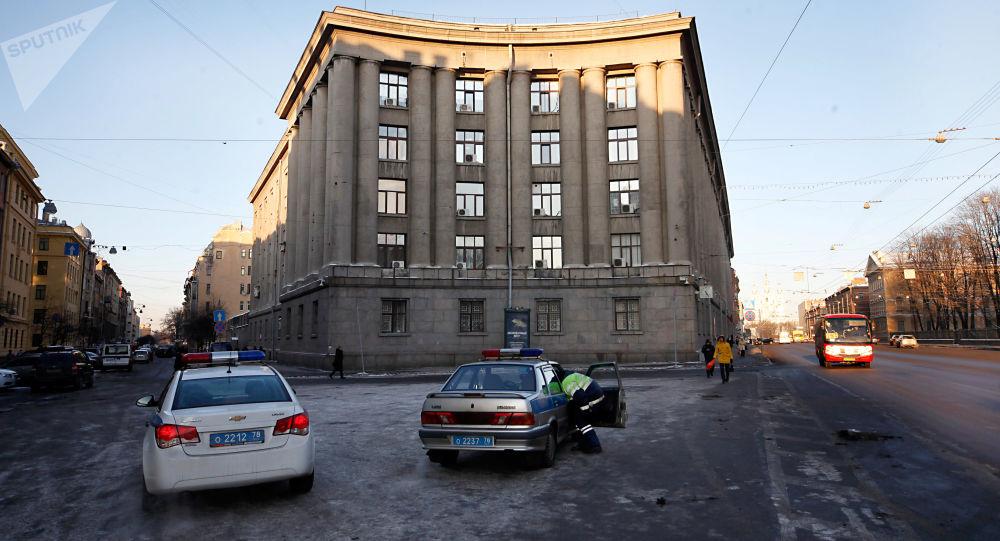 Gmach Głównego Zarządu Spraw Wewnętrznych w Petersburgu