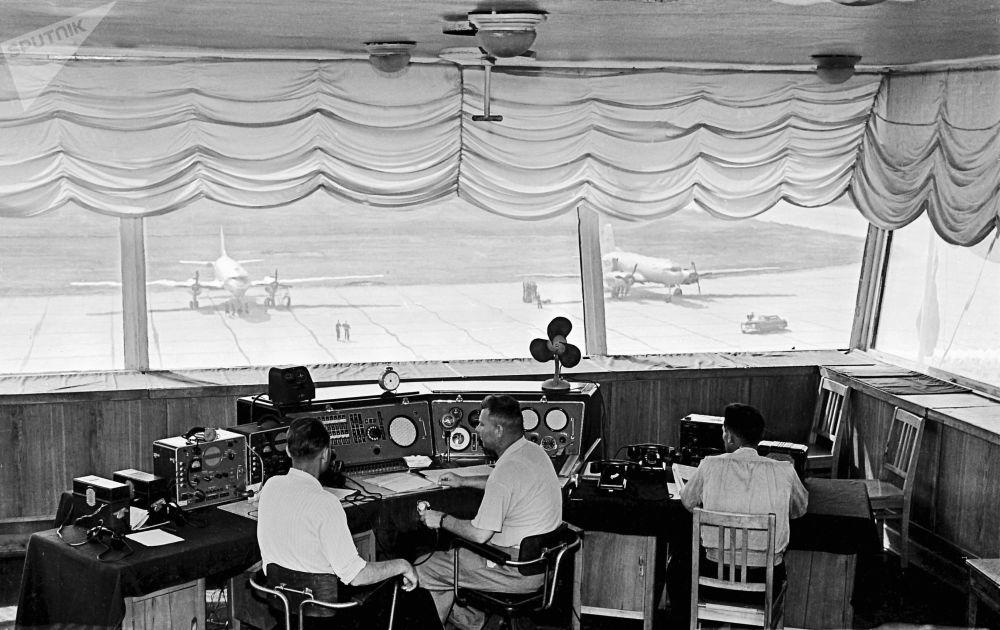 Kontrolerzy ruchu lotniczego, 1959 rok
