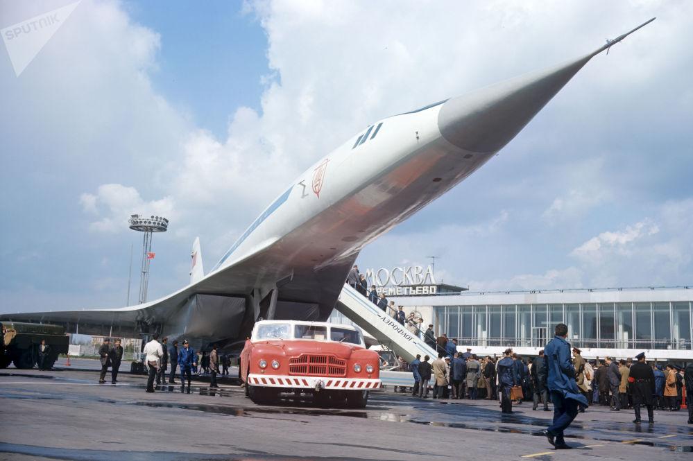 Tu-144 w Szeremietiewie, 1969 rok