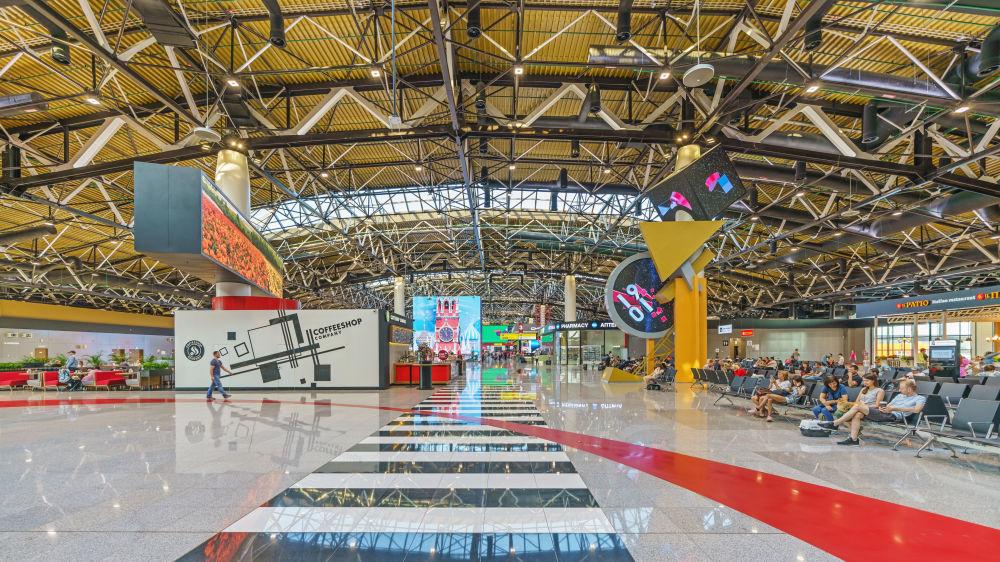 Lotnisko Szeremietiewo w Moskwie