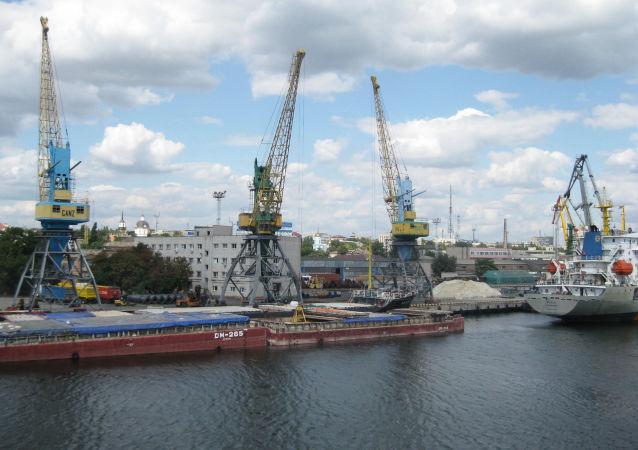 Port morski w Chersoniu