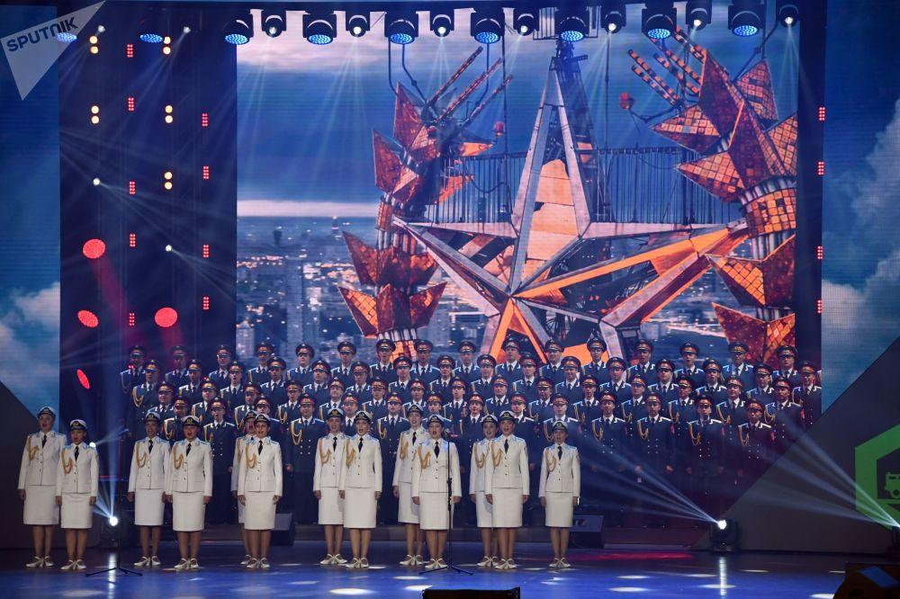 Ceremonia zamknięcia igrzysk wojskowych Armia 2019