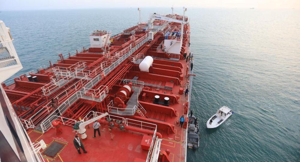 Brytyjska tankowiec Stena Impero w irańskim porcie Bandar Abbas