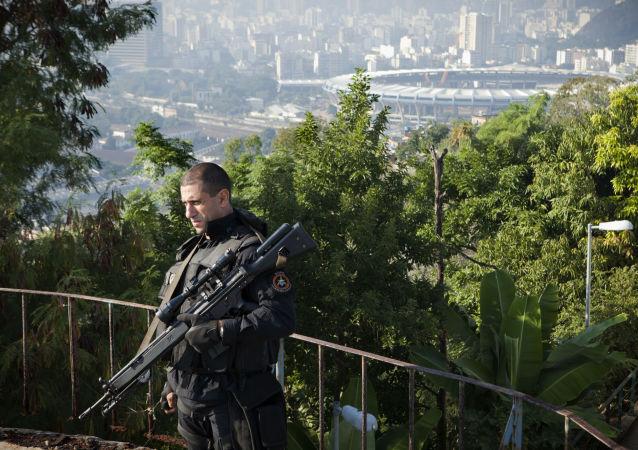 Policja w Rio de Janeiro