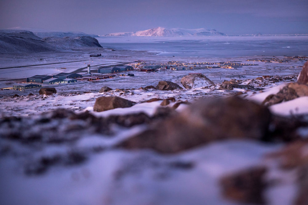 Baza lotnicza USA Thule na pólnocy Grenlandii