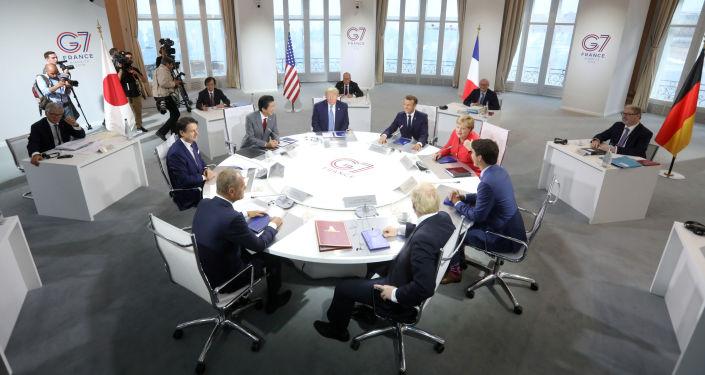 Szczyt G7 w Biarritz