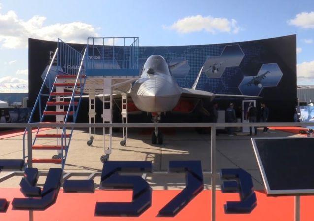 Najnowszy myśliwiec piątej generacji Su-57