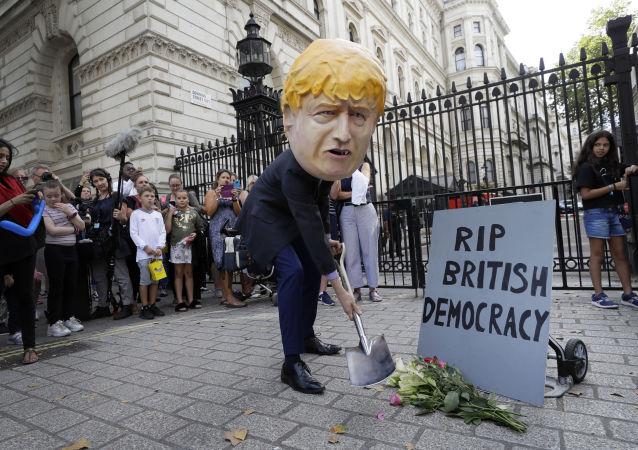 Protesty w Londynie