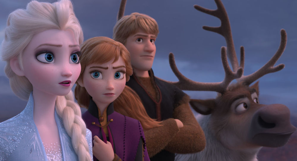 """Kadr z filmu animowanego """"Frozen 2"""""""