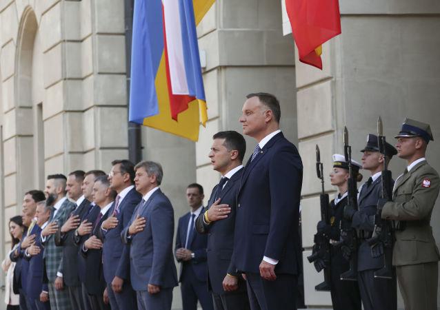 Wołodymyr Zełenski z oficjalną wizytą w Warszawie