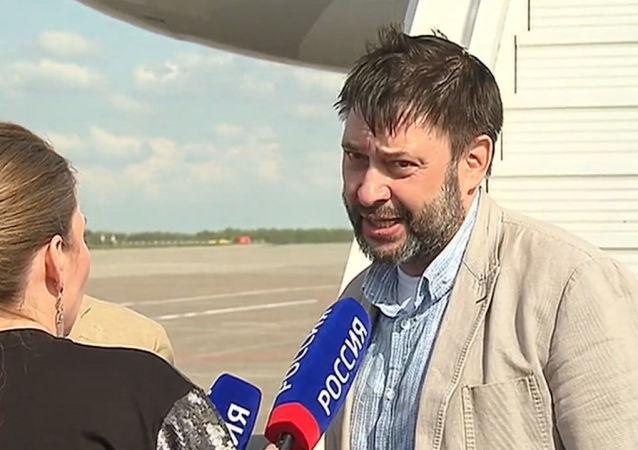 """Wyszynski: """"Nie czułem się samotny"""". Pierwszy wywiad po powrocie z Ukrainy"""