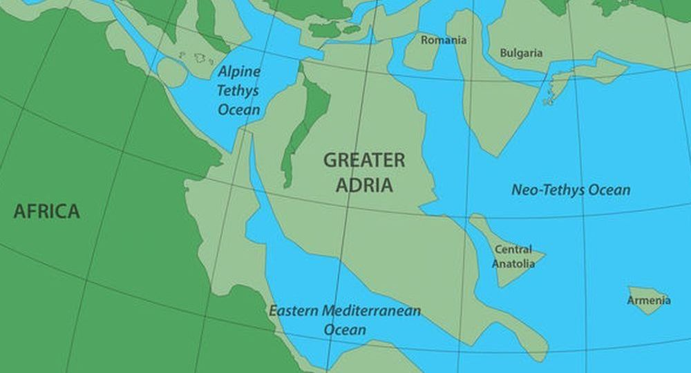Starożytny kontynent Wielka Adria