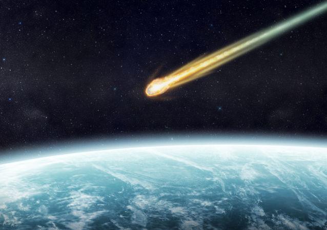 Mknący meteoryt
