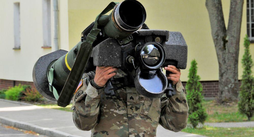Amerykański przenośny system przeciwpancerny Javelin