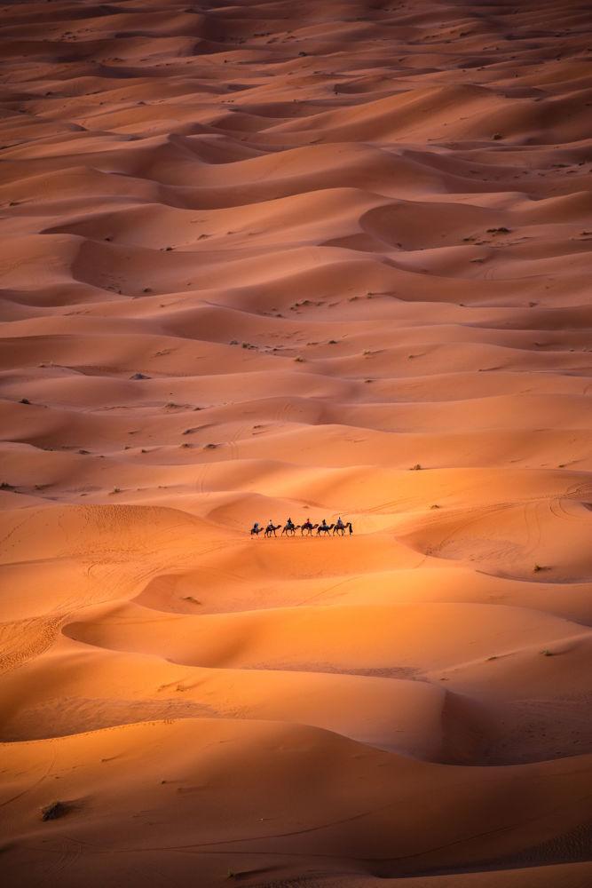"""Zdjęcie """"Alone in the desert"""" hiszpańskiego fotografa Carlesa Alonso na konkursie fotograficznym AGORA Awards 2019."""