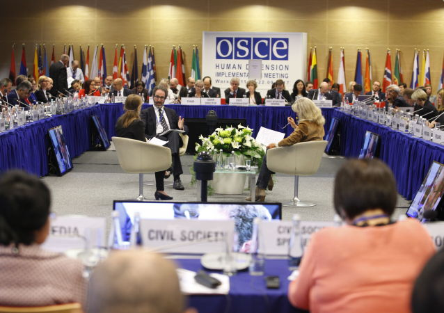 Konferencja przeglądowa OBWE na temat praw człowieka w Warszawie