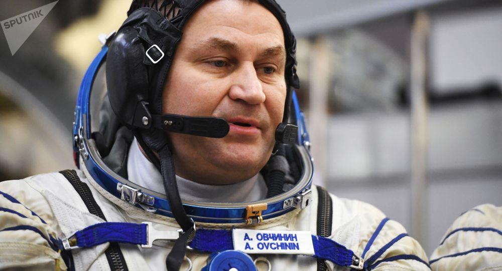 Rosyjski kosmonauta Aleksiej Owczynin