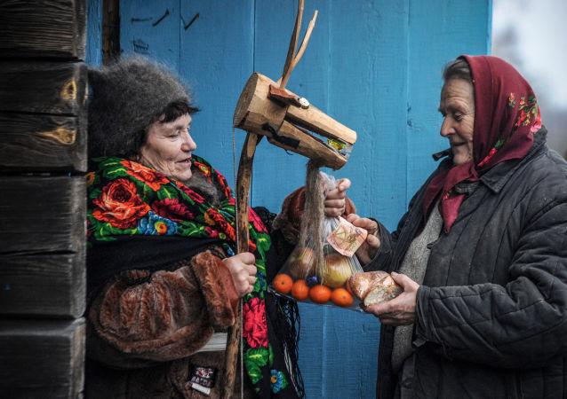 Mieszkanki białoruskiej wsi