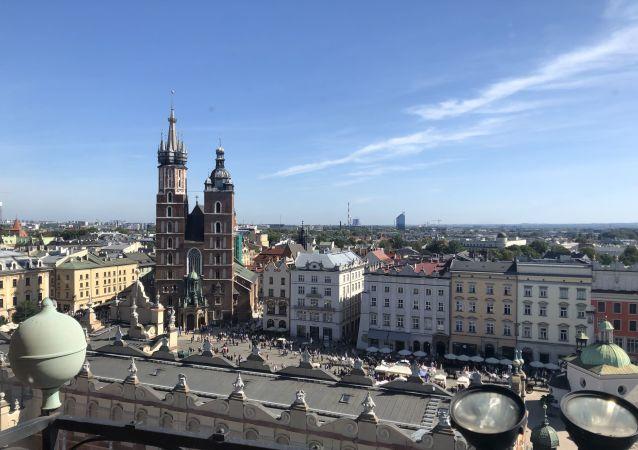 Kościól Mariacki na Rynku Głównym w Krakowie