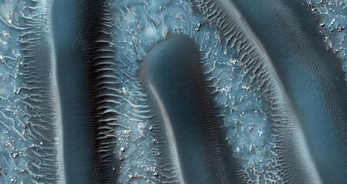 Wydmy na powierzchni Marsa
