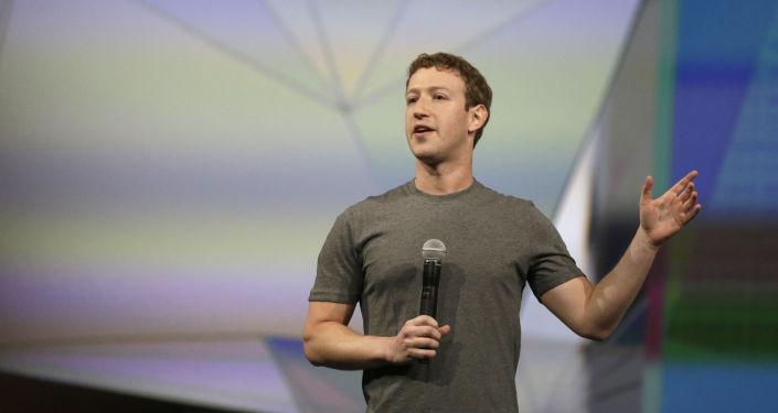 Dyrektor generalny Facebooka Mark Zuckerberg