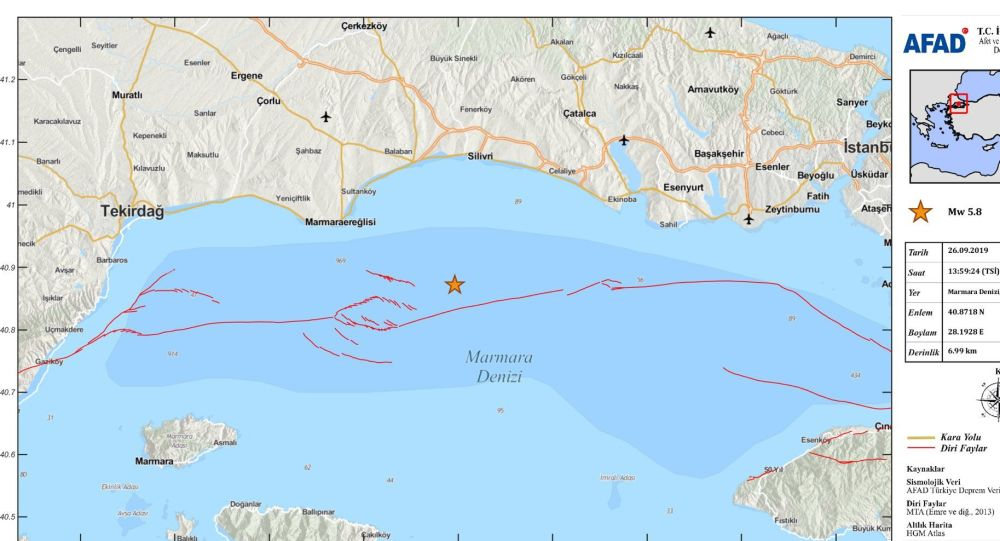 Trzęsienie ziemi w Turcji