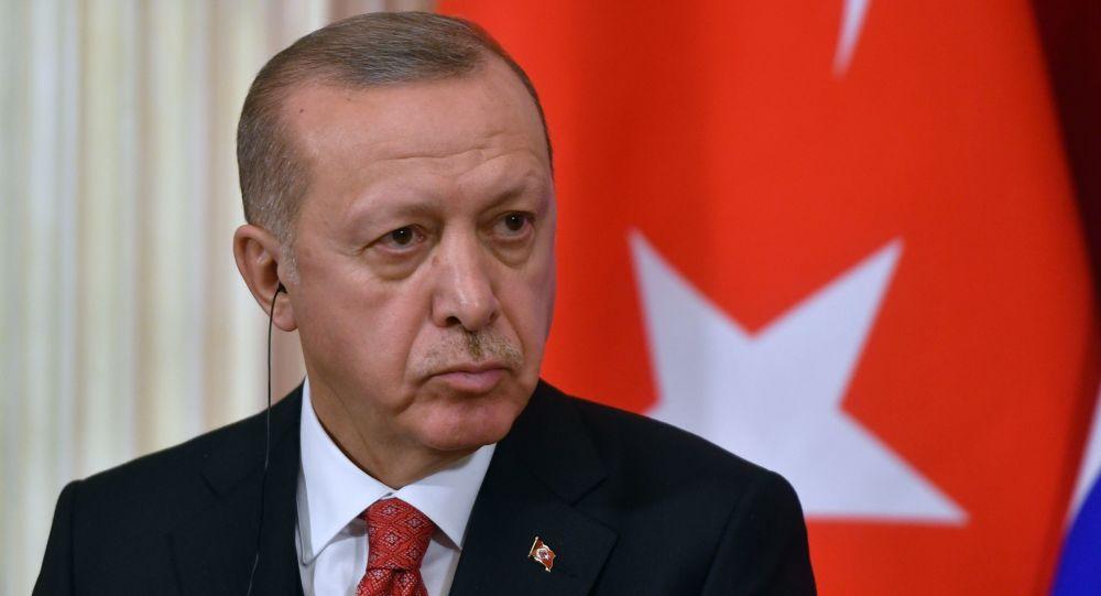Prezydent Turcji Recep Tayyip Erdogan. Zdjęcie archiwalne