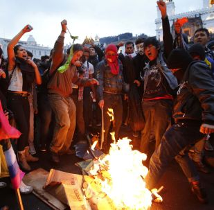 Protesty w Ekwadorze