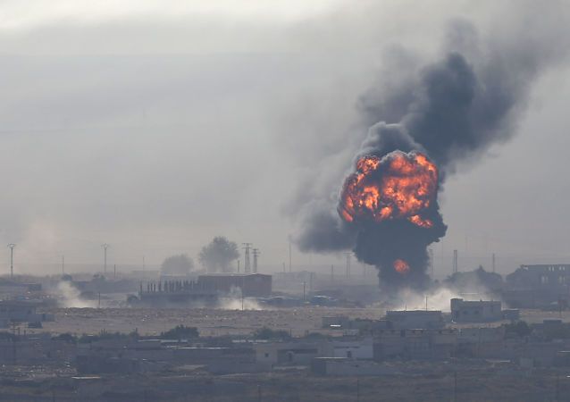 Wybuch w syryjskiej miejscowości Ras-al-Ayn
