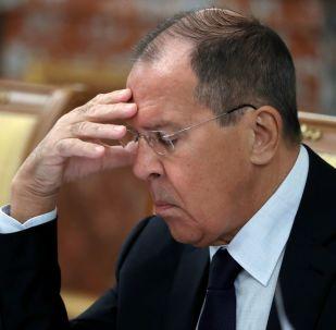 Minister spraw zagranicznych Rosji Siergiej Ławrow, 2019 rok