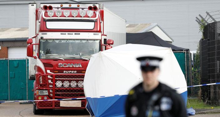 Essex, miejsce odkrycia ciężarówki z 39 ciałami