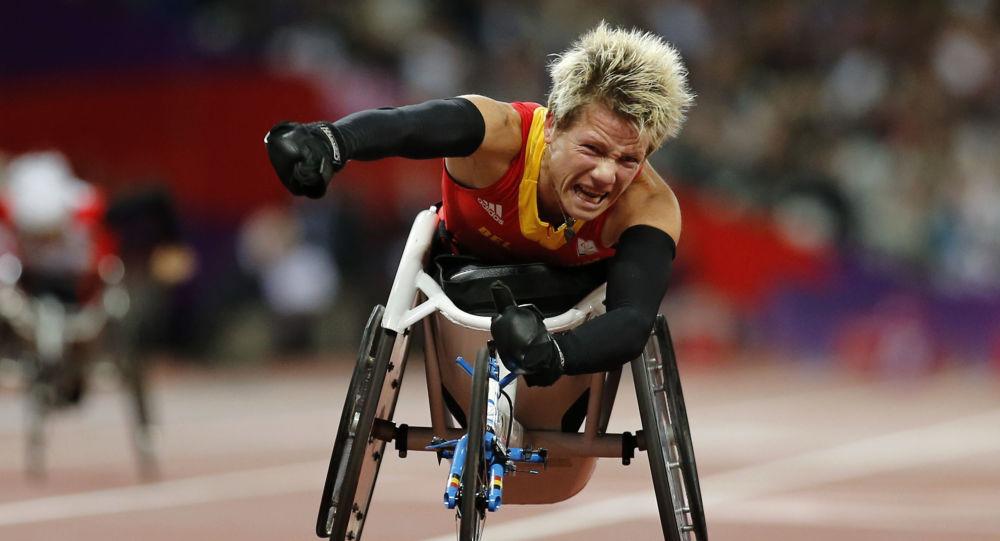 Belgijska lekkoatletka Marieke Vervoort