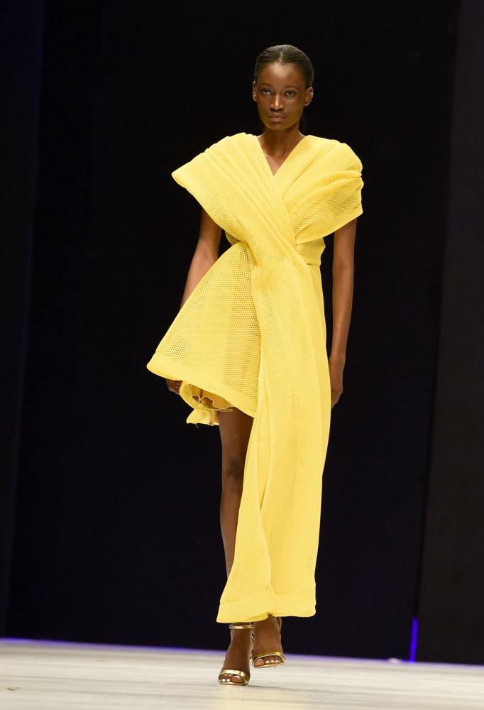 Tydzień mody w Nigerii.