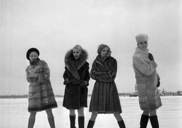 Kolekcja z rosyjskich futer w 1968 roku