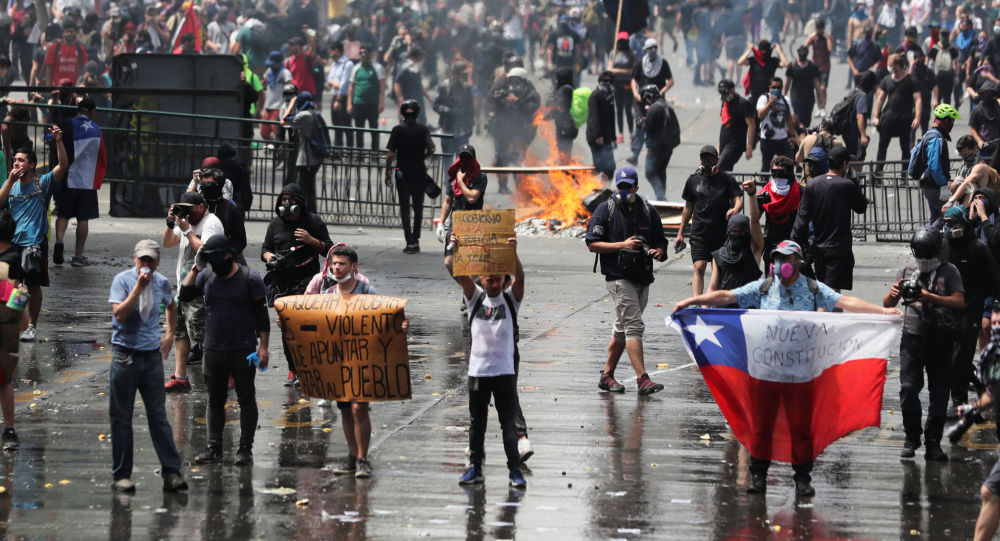 Protesty w Chile