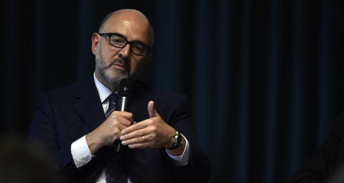 Komisarz UE do spraw gospodarczych i finansowych Pierre Moscovici