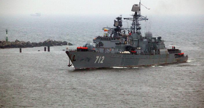 Strażniczy okręt Floty Bałtyckiej Nieustraszony