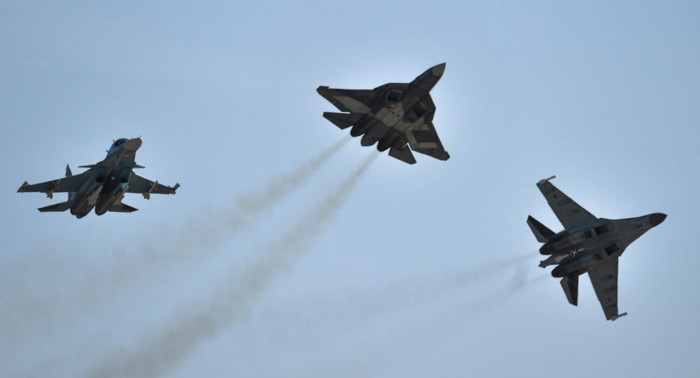 Su-34, T-50, Su-35