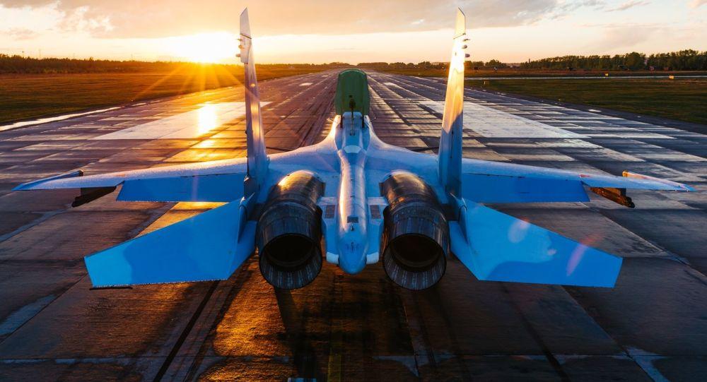 Myśliwiec Su-30SM