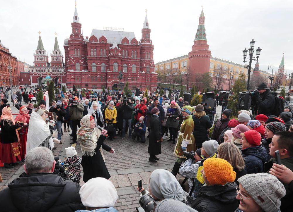 Obchody Dnia Jedności Narodowej w Moskwie