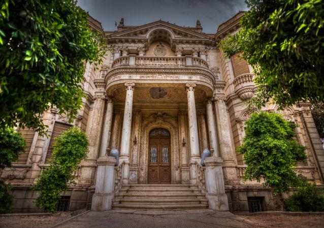 Pałac Alexan Pasha w Egipcie
